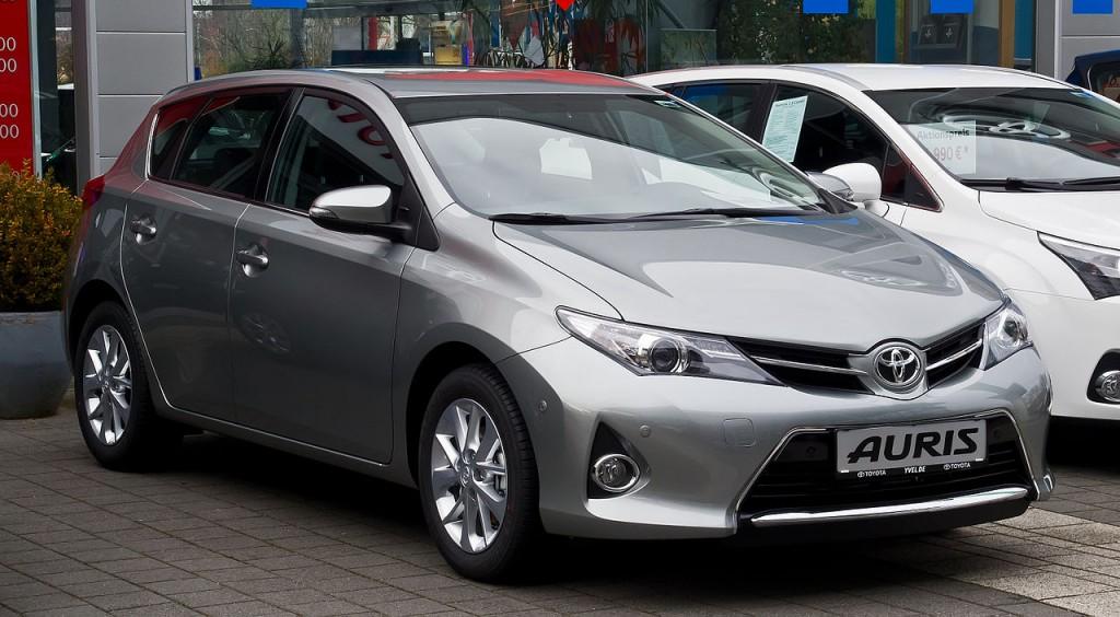 Antrosios kartos Toyota Auris